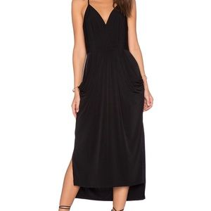 BCBG Black Dress with pockets